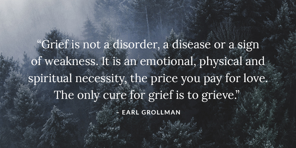 what is grief and grieving