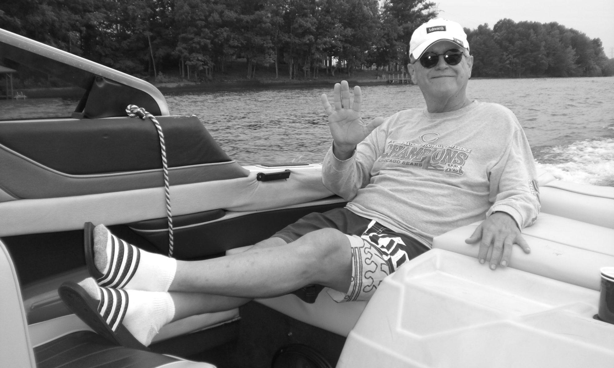 william j ashworth on the boat