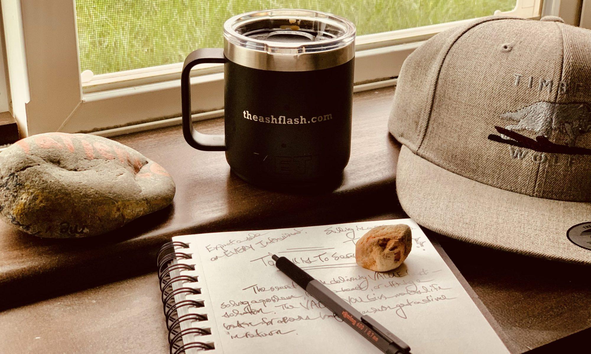 the ash flash coffee mug