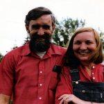 John Bennett & Maia Penfold, Ellensburg, WA, 1981.