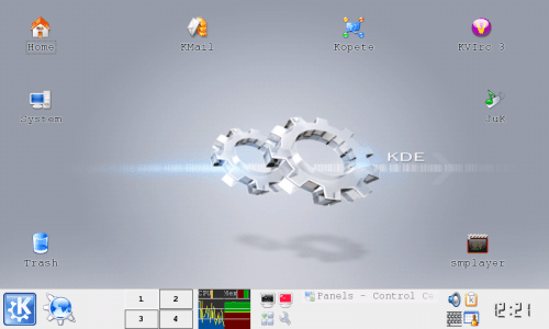 N810 with KDE desktop