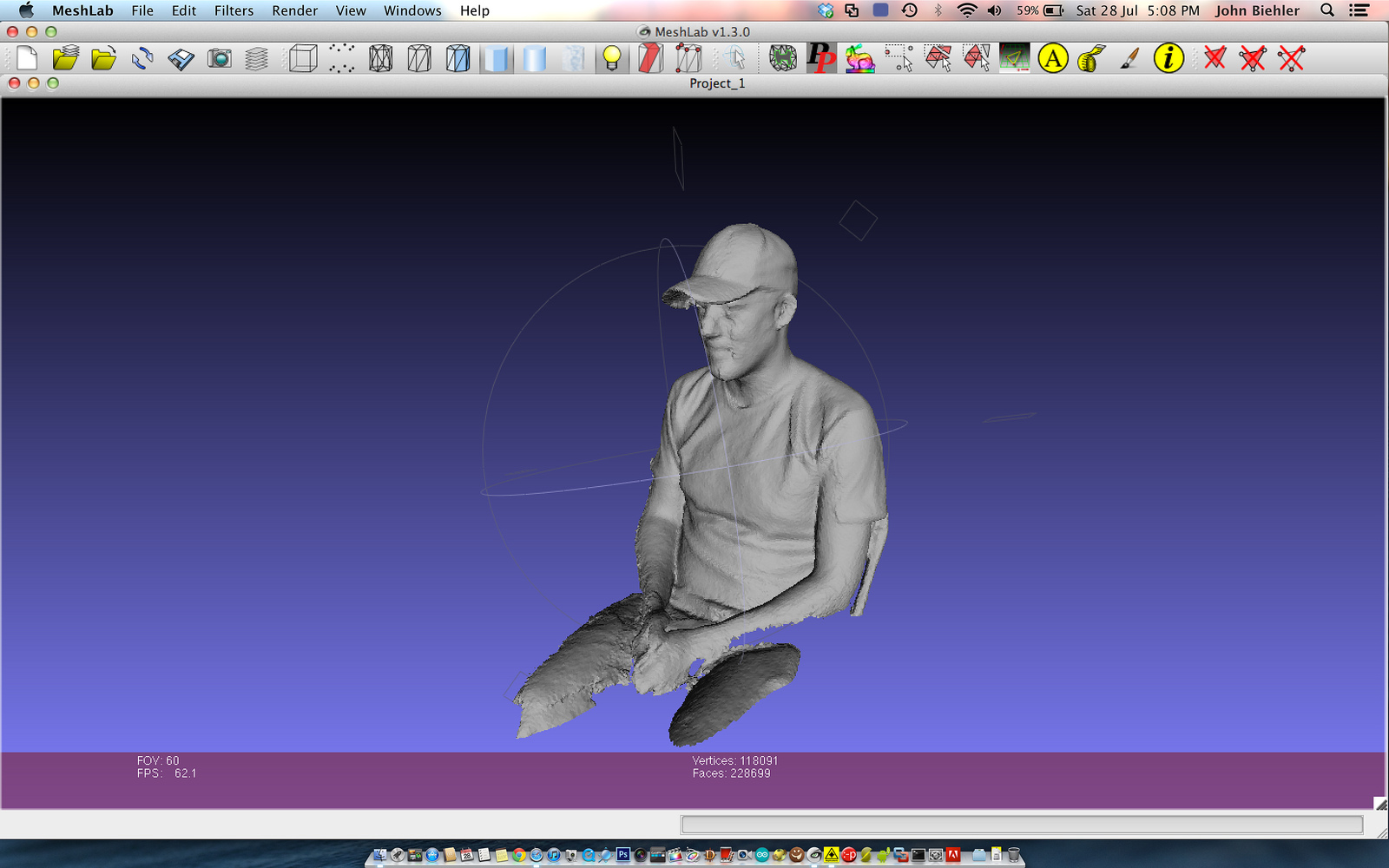 3d scanning with Xbox Kinect & ReconstructMe - johnbiehler com