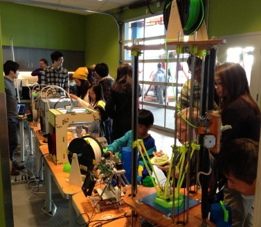 3D Printer Village @ Science World