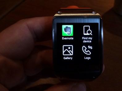App integration on the Gear