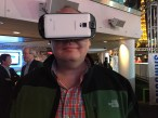 Trying out the Samsung Gear VR
