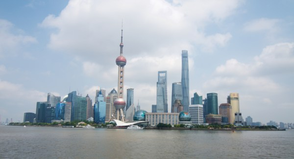 The view from the Bund
