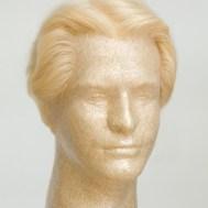 Original John Blake film quality human hair men costume wig platinum 6 inch  regular aef5c2635db6
