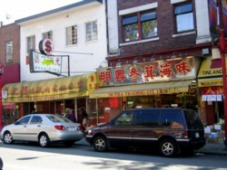 E. Pender St. in Chinatown