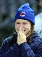 Cubs fan crying