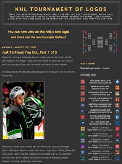 NHL Tournament of Logos