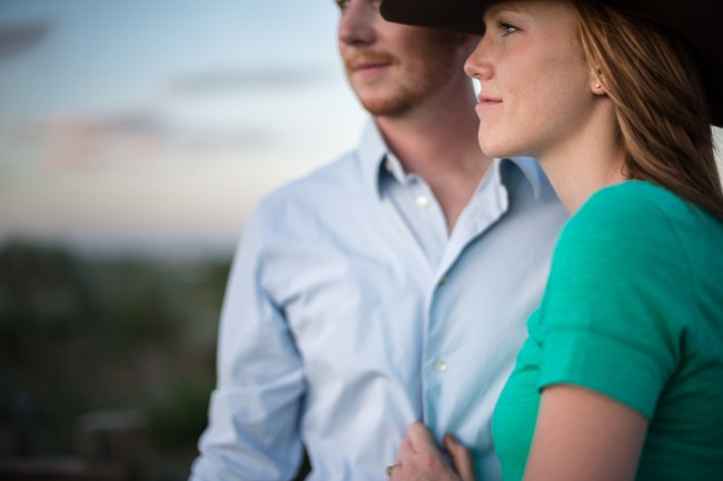 Denver Engagement Photography bluff lake