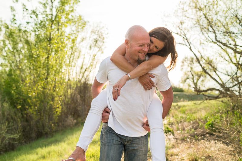 Denver Engagement Photography piggyback