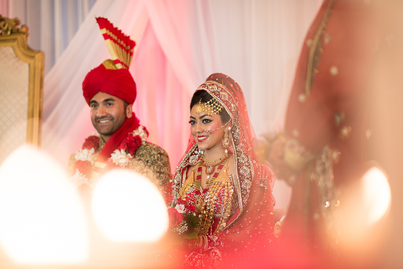 Denver Pakistani Wedding bride and groom
