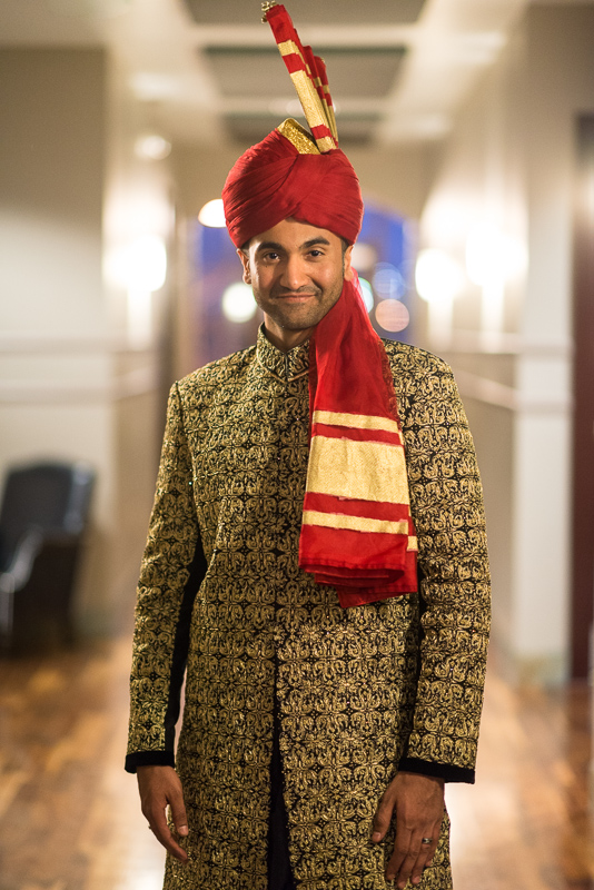 Denver Pakistani Wedding groom