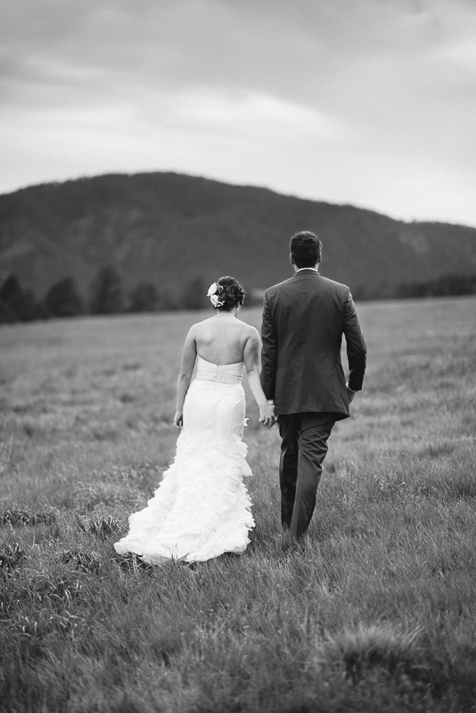 Spruce Mountain Ranch Wedding Photography bride and groom walking