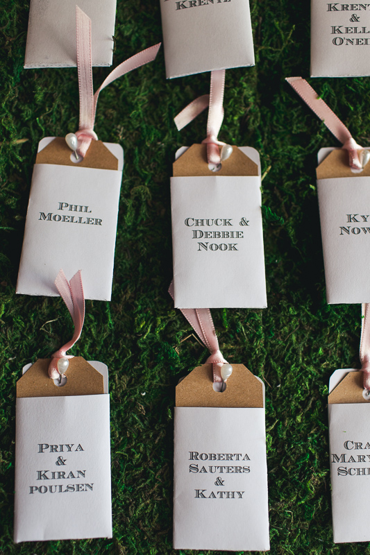 Spruce Mountain Ranch Wedding Photography guest cards