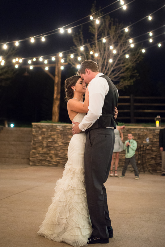Spruce Mountain Ranch Wedding Photography first dance