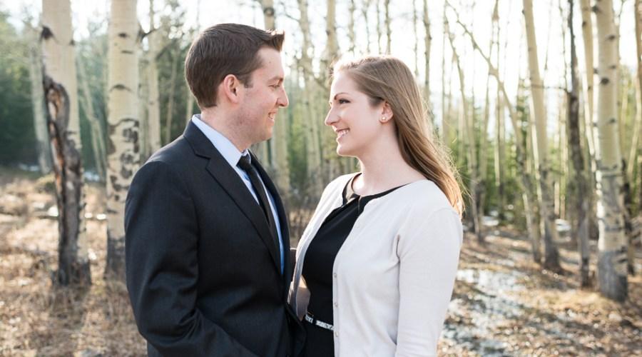 Evergreen Engagement Photos