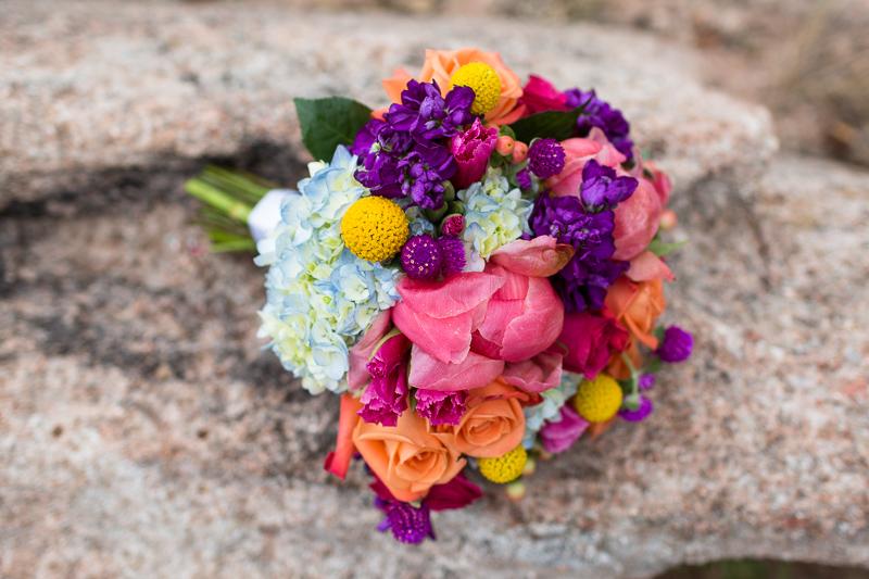 Denver Wedding Photography Arrowhead bouquet