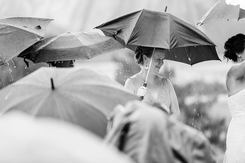 Denver Wedding Photography Arrowhead rain