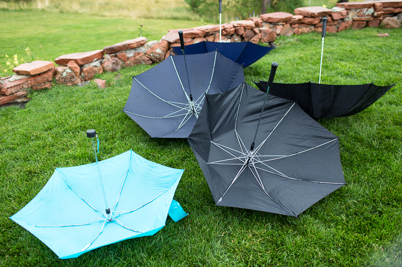 Denver Wedding Photography Arrowhead umbrellas