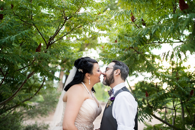 Denver Wedding Photographer Hudson Gardens portrait