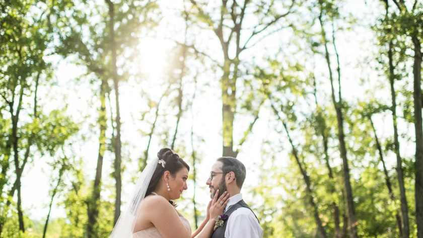 Denver Wedding Photography hudson gardens