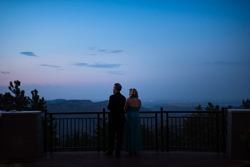 Golden Wedding Photographer mount vernon wedding deck