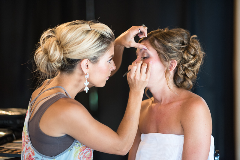 Silverthorne Wedding Photographer bride getting ready