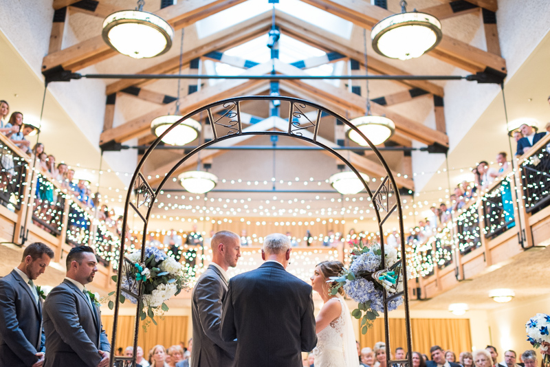 Silverthorne Wedding Photographer pavilion ceremony