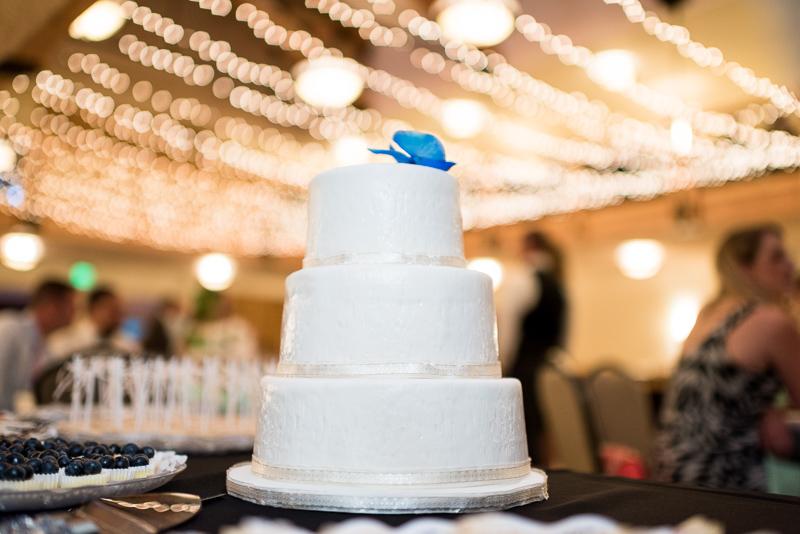 Silverthorne Wedding Photographer cake