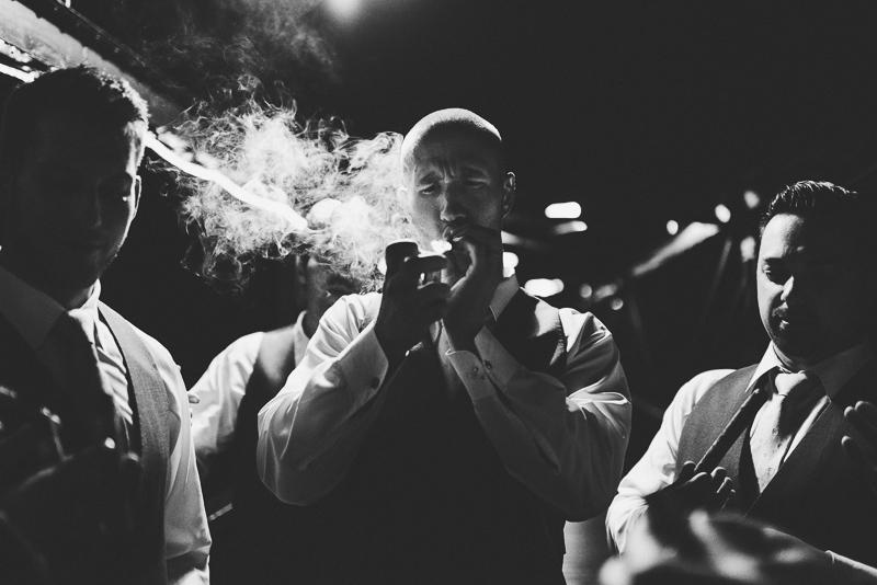 Silverthorne Wedding Photographer cigar