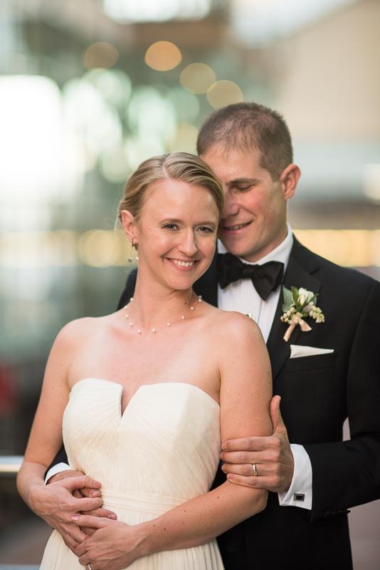 Denver Opera House Wedding Photographer bride and groom