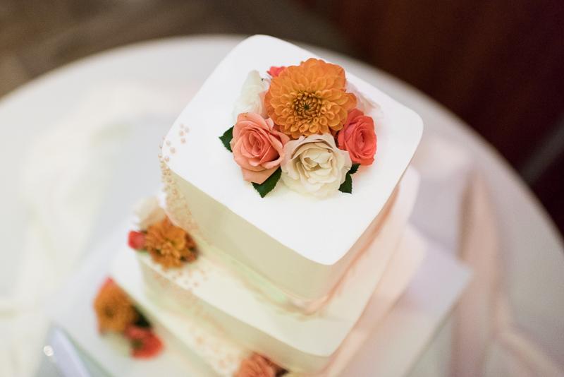 Denver Opera House Wedding Photographer cake