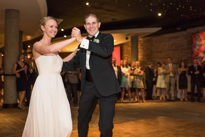 Denver Opera House Wedding Photographer first dance