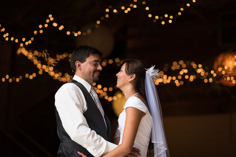 Palisade Wedding Photography first dance bokeh