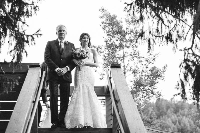 Boulder Wedding Photography father and bride