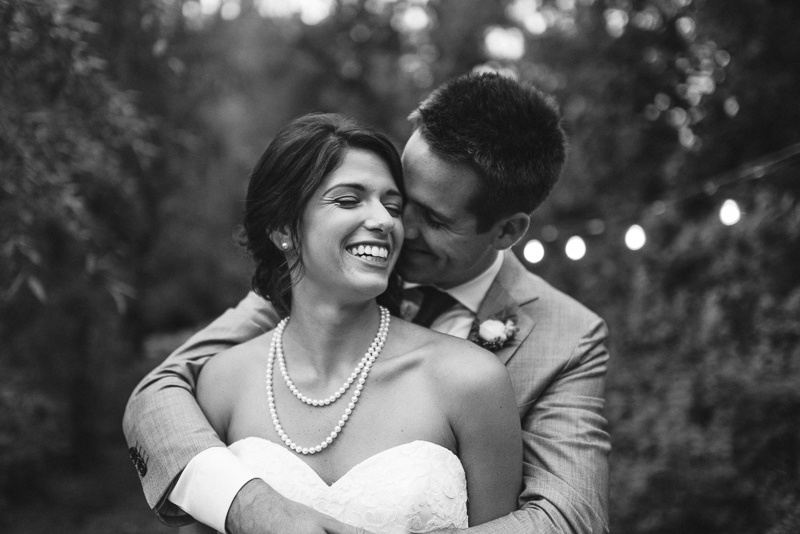 Boulder Wedding Photography bride and groom black and white