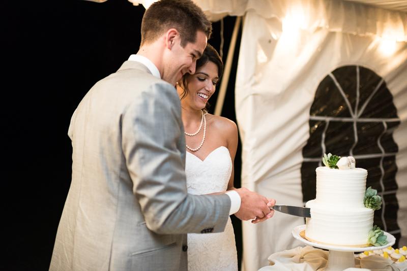 Boulder Wedding Photography cutting cake