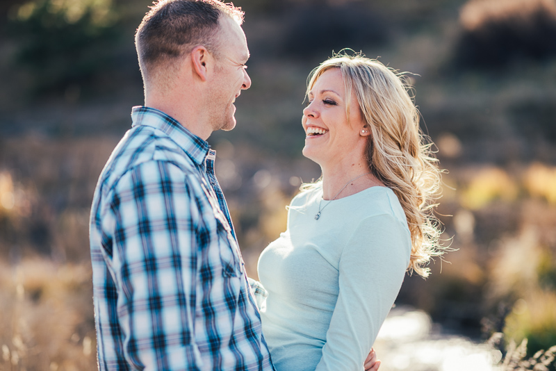 Denver Engagement Photographer laughing