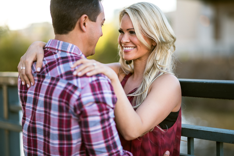 Denver Engagement Photography smiling