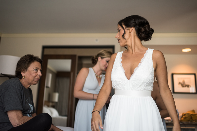 Denver Wedding Photography History Colorado bride in dress