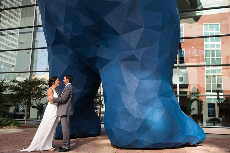 Denver Wedding Photography History Colorado big blue bear bride and groom