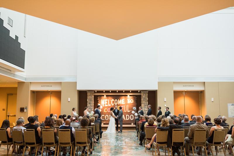 Denver Wedding Photography History Colorado ceremony