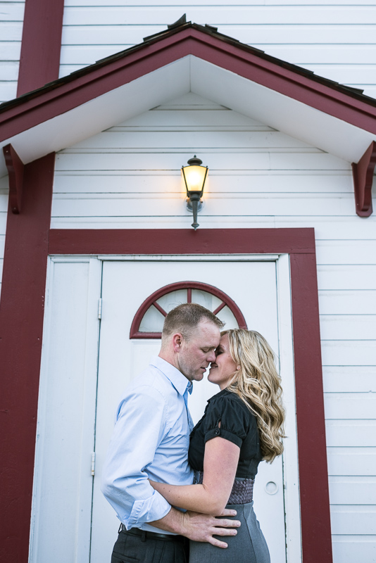 Denver Engagement Photographer doorway
