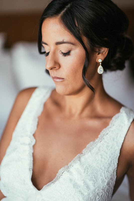 Denver wedding photography bride portrait