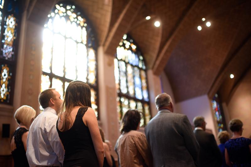 Denver Wedding Photography church light