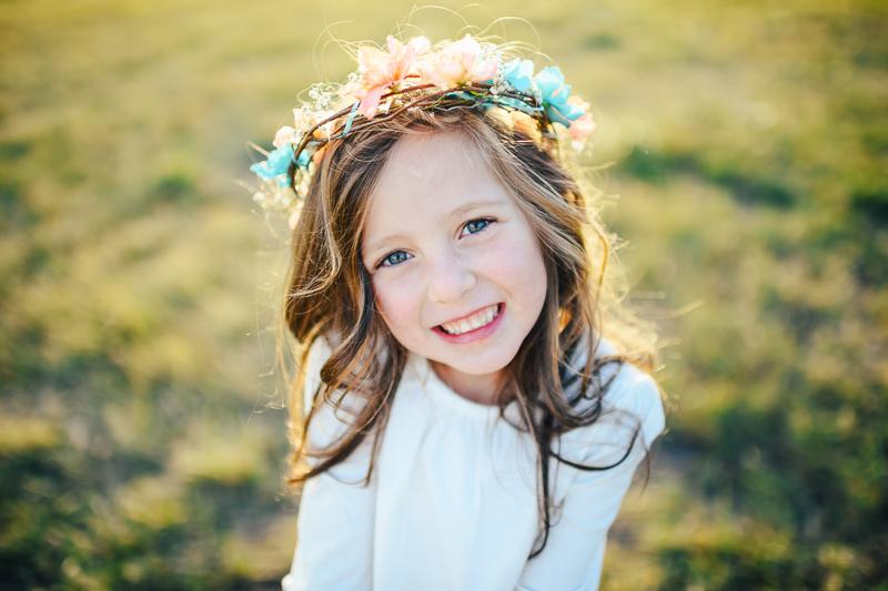 Denver Wedding Photography flower girl