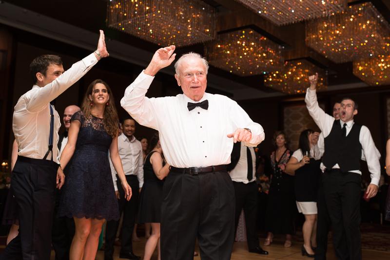 Denver Wedding Photography dancing granfather