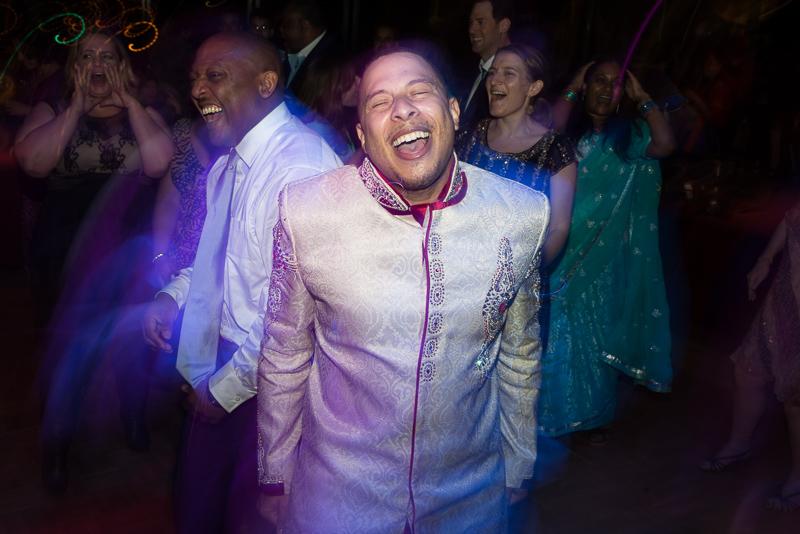 Denver Wedding Photography dancing groomsman
